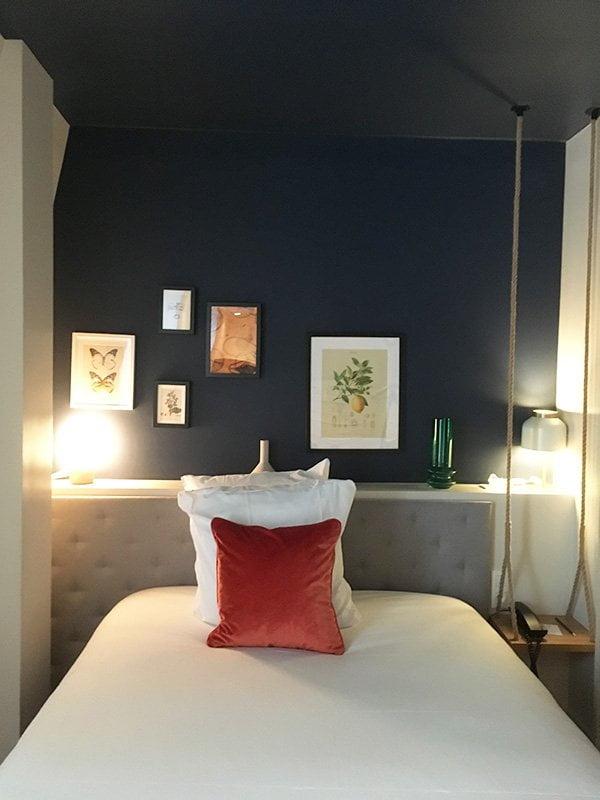 Doppelzimmer im Dachstock des Hotel Le Belleval in Paris (Hey Pretty Beauty Blog Erfahrungsbericht)