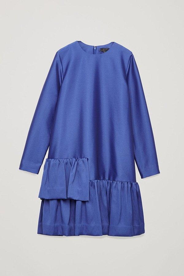 Fashion Flash: Partyröckli 2018 auf Hey Pretty – COS Mid-Length A-Line Satin Frill Dress