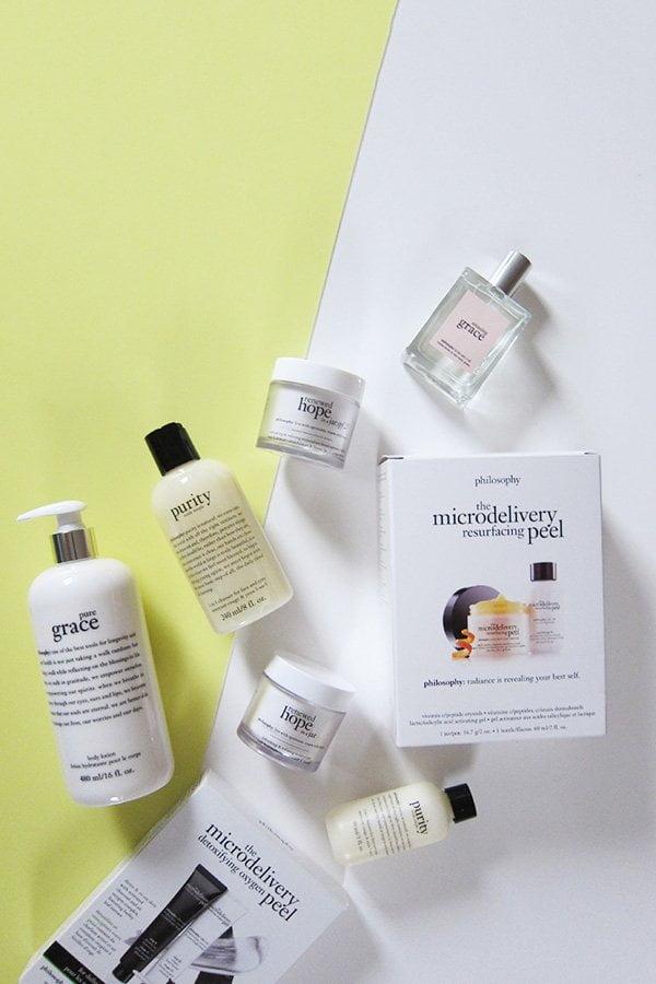 Philosophy Hautpflege und Düfte, neu in der Schweiz erhältlich: Brand-Infos und Produkte-Highlights auf Hey Pretty