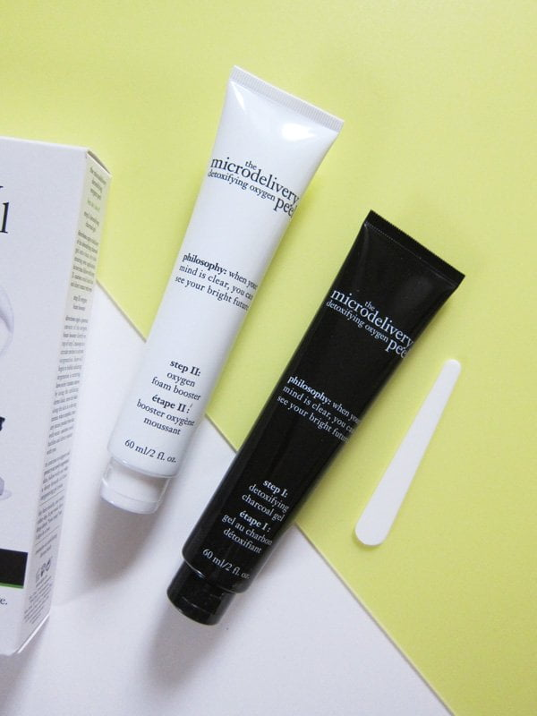 Philosophy The Microdelivery Detoxifying Oxygen Peel (Review auf Hey Pretty)