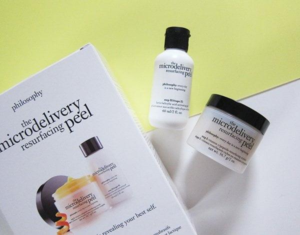 Philosophy Microdelivery Resurfacing Peel, neu bei Marionnaud Schweiz erhältlich (Review auf Hey pretty)