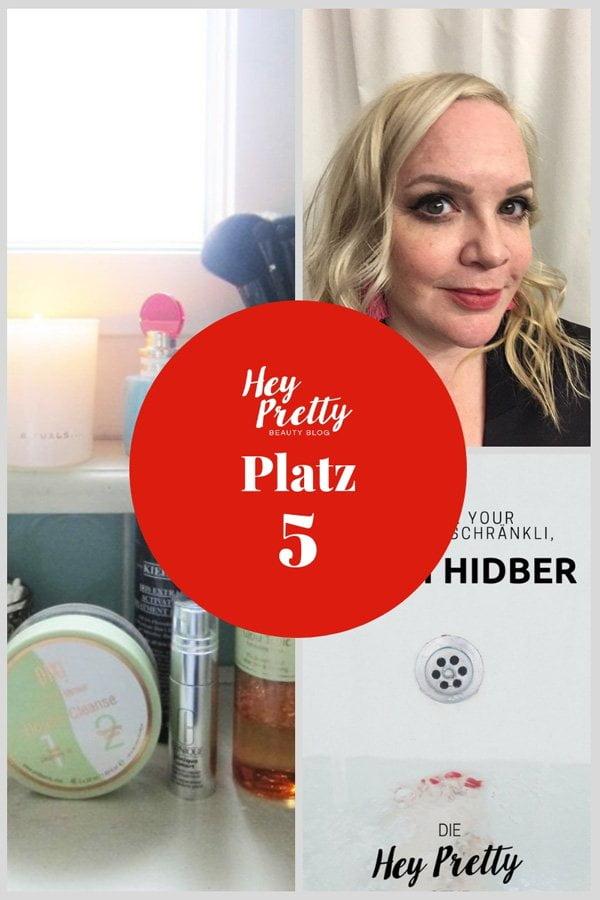 Die meistgelesenen Blogposts 2018, Platz 5: Show Me Your Badezimmerschränkli mit Steffi Hidber (Hey Pretty Beauty Blog)