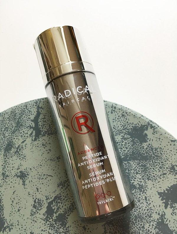 Radical Skincare Advanced Peptide Antioxidant Serum (Gesichtspflege für strahlende Haut) – Erfahrungsbericht auf Hey Pretty Beauty Blog