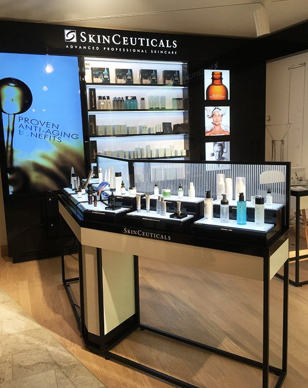 SkinCeuticals Boutique im Waldhotel Bürgenstock Resort (Hey Pretty Review)