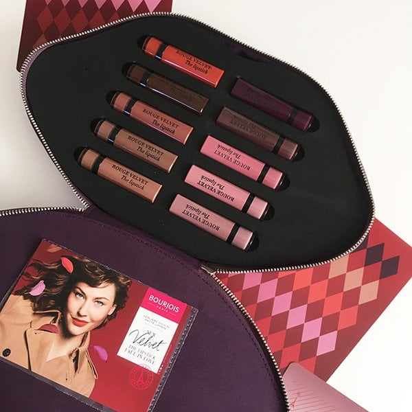 Bourjois Rouge Velvet The Lipstick «Fall in Love» Press Kit (Review auf Hey Pretty)