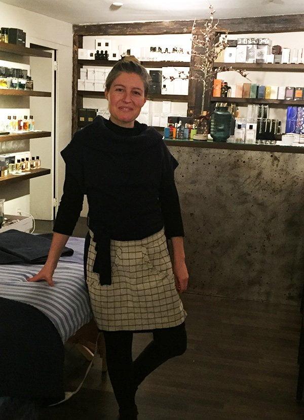 Franca von Scarpattetti von Mon Salon Vert @ Süskind (Spa Review auf Hey Pretty): Naturkosmetik in Zürich