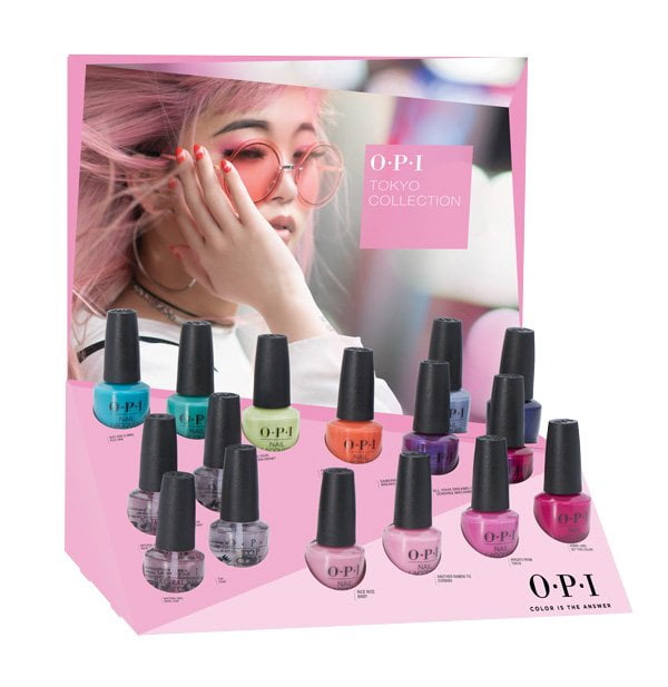 OPI Spring Summer 2019: Tokyo (Display) – Preview auf Hey Pretty Beauty Blog