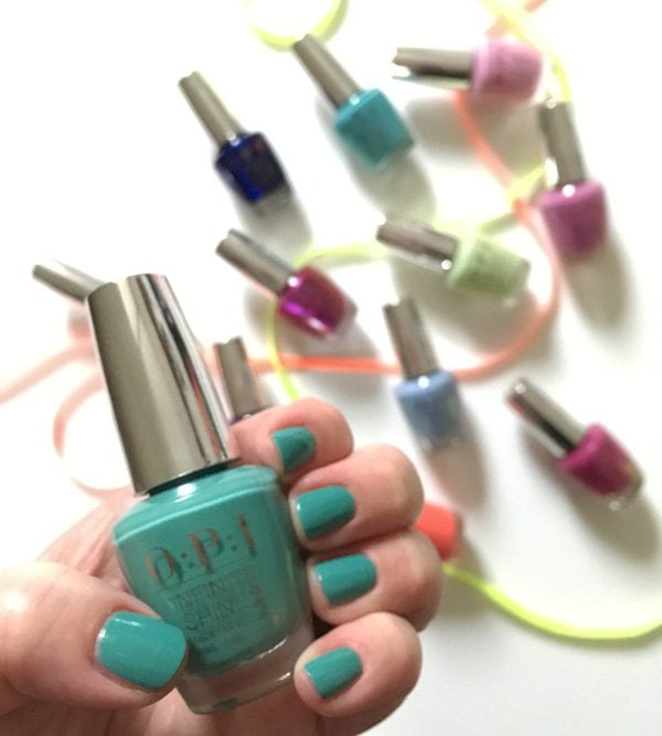 OPI I'm On a Sushi Roll (Spring/Summer 2019 – Toyko Collection), swatched by Hey Pretty Beauty Blog