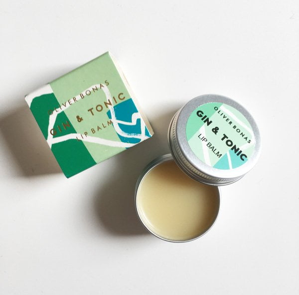 Oliver Bonas Gin & Tonic Lip Balm (Entzückendes Packaging: Beautyprodukte aus London, Review auf Hey Pretty)