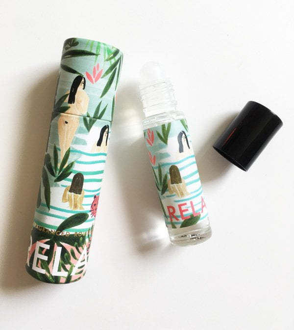 Oliver Bonas Relax Rollerball (hübsche Beautyprodukte aus London, Review auf Hey Pretty)