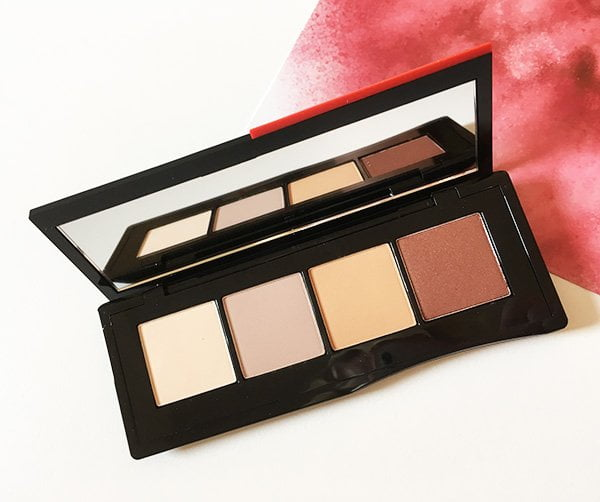 Shiseido Essentialist Eye Palette in Miyuki Street Nudes (Makeup Relaunch, Kollektionsvorstellung auf Hey Pretty)