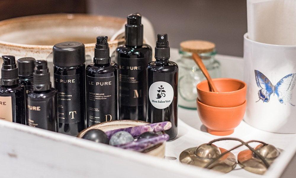 Naturkosmetik-Gesichstsbehandlungen in Zürich: Mon Salon Vert bei Süskind Zürich (mit Produkten von Le Pure) – Review auf Hey Pretty