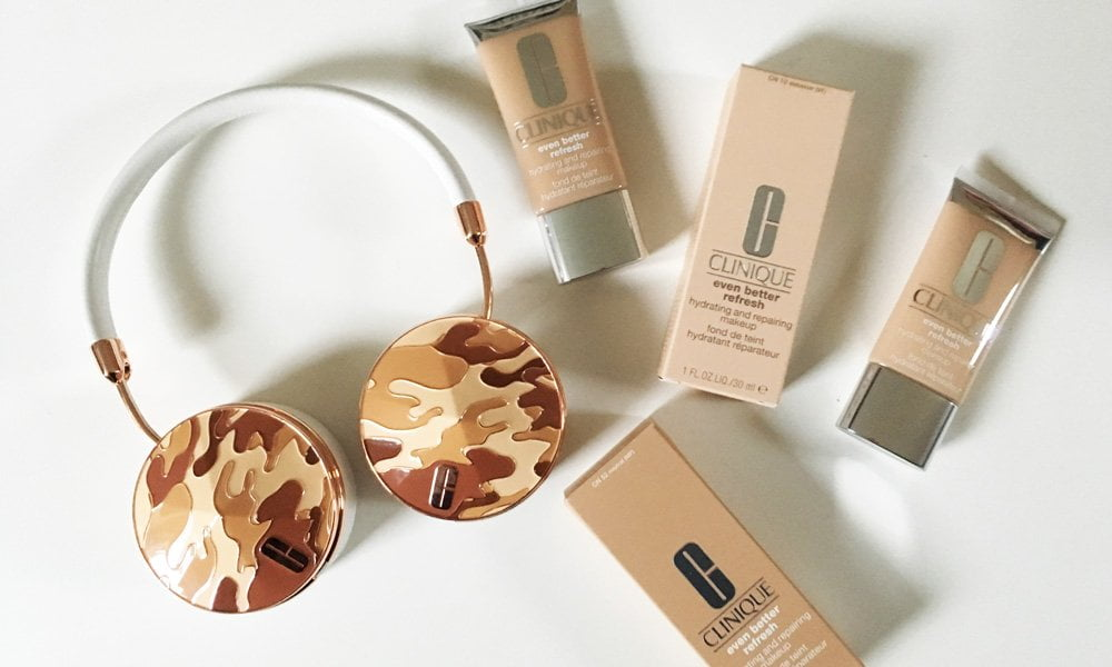 Review der neuen Clinique Even Better Refresh Foundation auf Hey Pretty