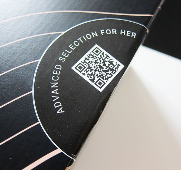 Detail Verpackung Hanzz+Heidii Hautpflege: Review auf Hey Pretty (Paket «Advanced»)