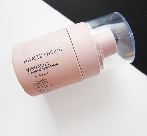 Hanzz+Heidii Visualize Transforming Eye Cream (Hey Pretty Beauty Blog Review)