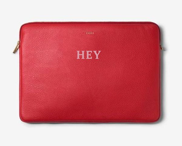 Hey Pretty Roundup: Endlich schöne, schicke Laptop Hüllen – CHAOS Customised Leather Laptop Cover