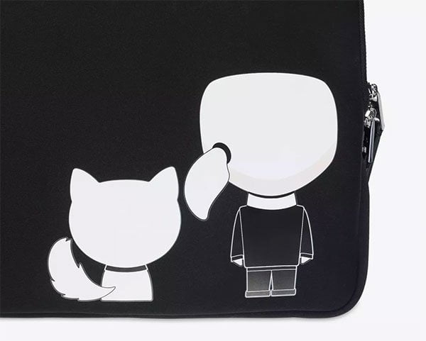 Coole Laptophüllen für Frauen: Karl Lagerfeld Macbook Case (Hey Pretty Beauty Blog)