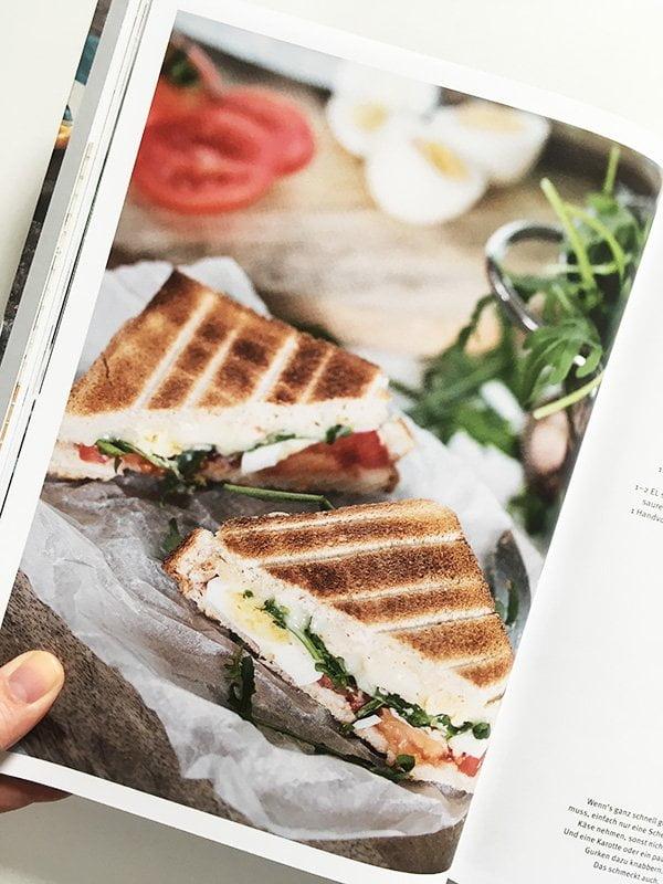 Detailbild Croque Monsieur de Luxe aus «LouMalou – Entspannt kochen» von Nadja Zimmermann (Copyright: AT Verlag 2019), Review auf Hey Pretty