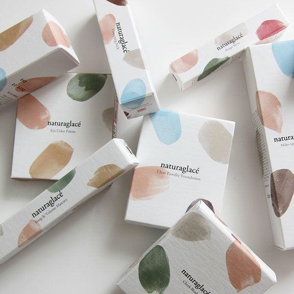 Naturaglacé Schweiz: Japanische Make-Up Linie mit 100% natürlichen Inhaltsstoffen (Review auf Hey Pretty) – Closeup der schönen Verpackung