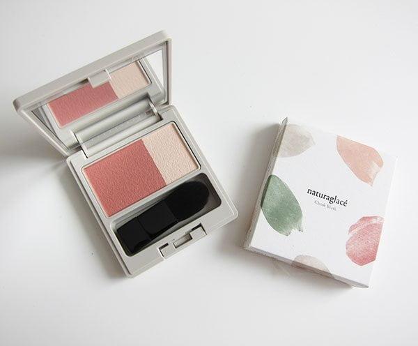 Naturaglacé Powder Rouge in 04 Nude (Hey Pretty Beauty Blog Review: Japanische Naturkosmetik Make-Up Marke, neu in der Schweiz erhältlich)