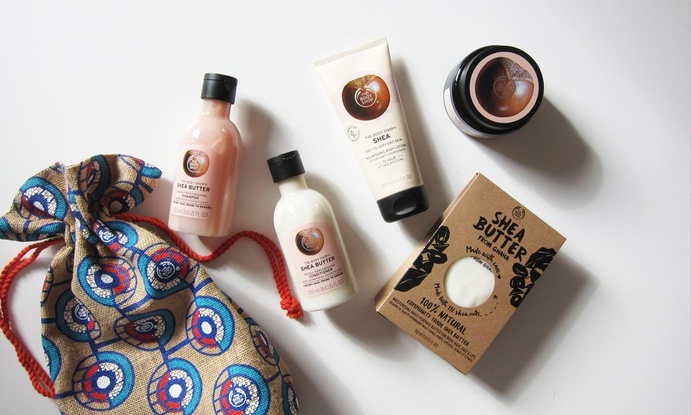 The Body Shop Shea Butter Hautpflegelinie – Neuheiten und Ghana-Background mit Sonrisa (Hey Pretty Beauty Blog)