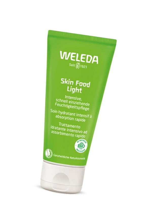 Erfahrungsbericht Weleda Skin Food Light auf Hey Pretty Beauty Blog