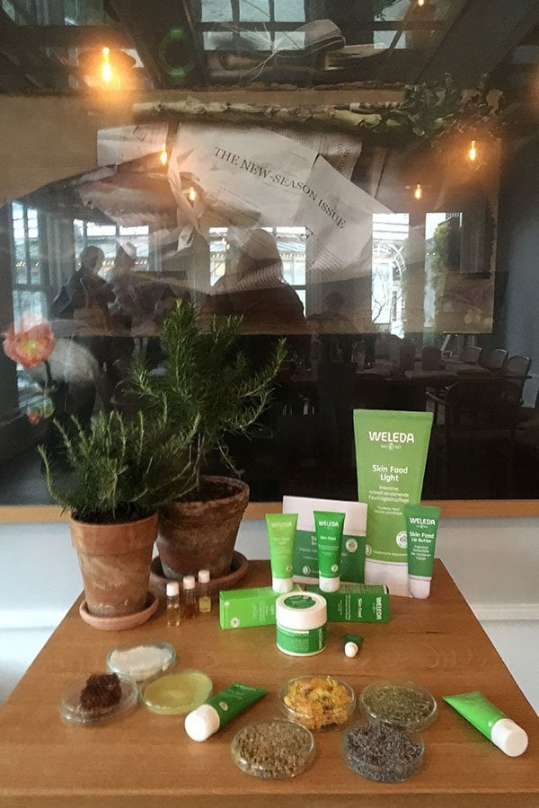 Launch der neuen Weleda Skin Food Hautpflegeserie mit Hey Pretty Beauty Blog