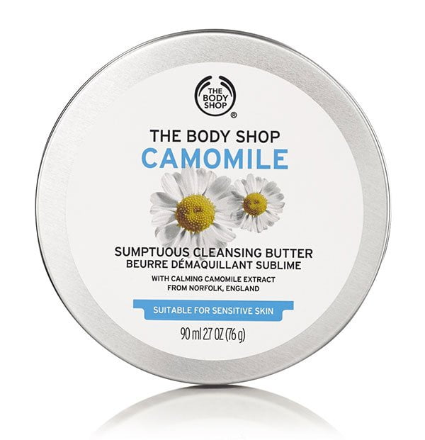 The Body Shop Camomile Cleansing Butter: Erfahrungsbericht auf Hey Pretty Beauty Blog (Kult-Pflegeprodukte)