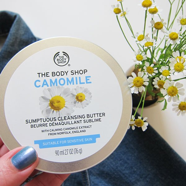 Gewinnspiel «Must-Haves der Hautpflege by The Body Shop» auf Hey Pretty: Camomile Cleansing Butter
