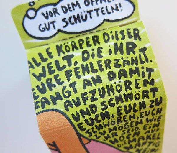 Verpackungsdetail Einhorn Period Tamponpons (Hey Pretty)