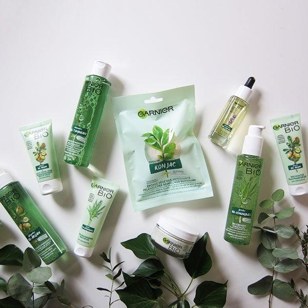 Garnier Bio Gesichtspflege-Launch: Gewinne das komplette Set mit allen 10 Produkten auf Hey Pretty!