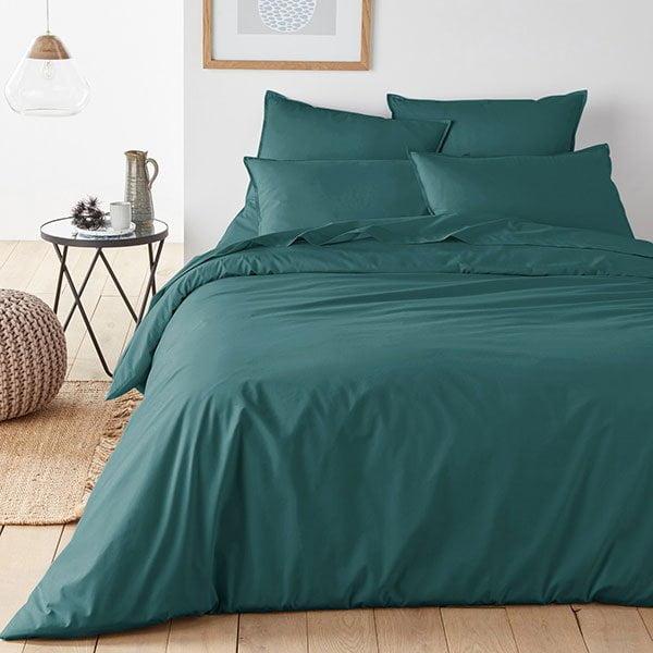 Bettbezug aus Bio-Baumfoll-Perkal (Hey Pretty Deko-Flash: Scandi Style für wenig Geld) – Image Credit: La Redoute
