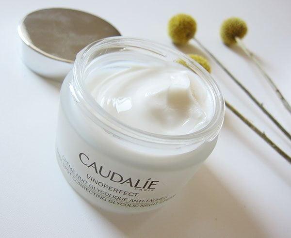 Caudalie Vinoperfect Dark Spot Correcting Glycolic Night Cream (Hey Pretty Beauty Blog Review)