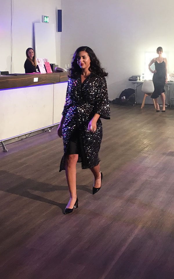 Influencerin Basma Bada am Philips Beauty Day 2019 in Hamburg (Hey Pretty Beauty Blog)