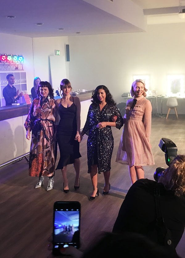 Philips Beauty Day 2019 in der Asterlounge Hamburg: Vreni Frost, Vicky Wanka, Basma Bada und Valentina Pahde (Hey Pretty Erlebnisbericht)