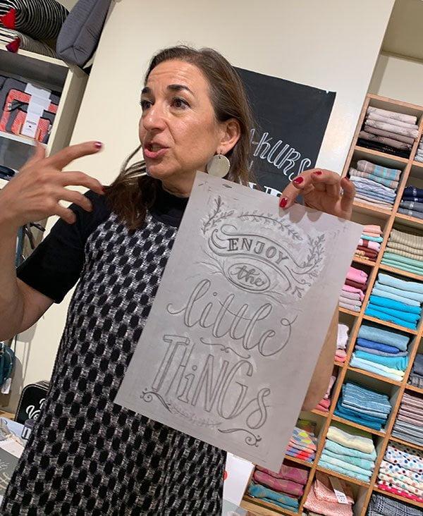 Handlettering Crashkurs mit Sasa Noël bei Changemaker Zürich: Erlebnisbericht mit Hey Pretty Beauty Blog