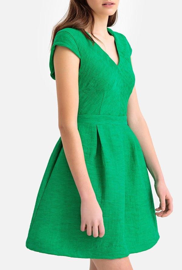 Kurzes grünes Kleid von La Redoute (Hübsche Kleider für Hochzeitsgäste, Hey Pretty Fashion Flash 2019)