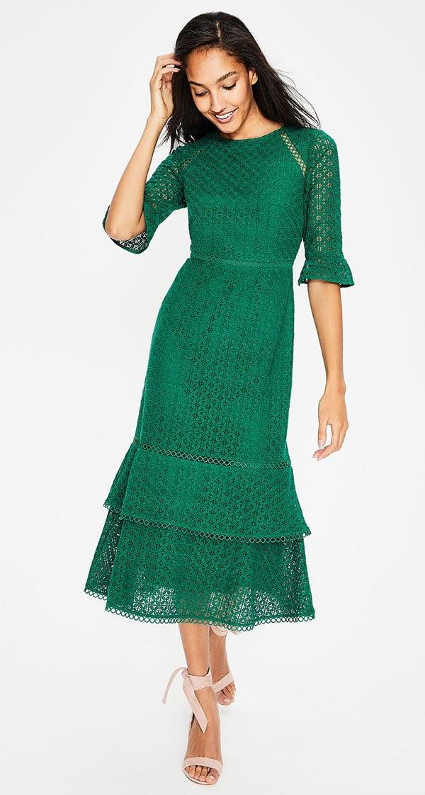 Lana Lace Midi Dress in Grün von Boden (Hey Pretty Fashion Flash – Kleider für Hochzeitsgäste)
