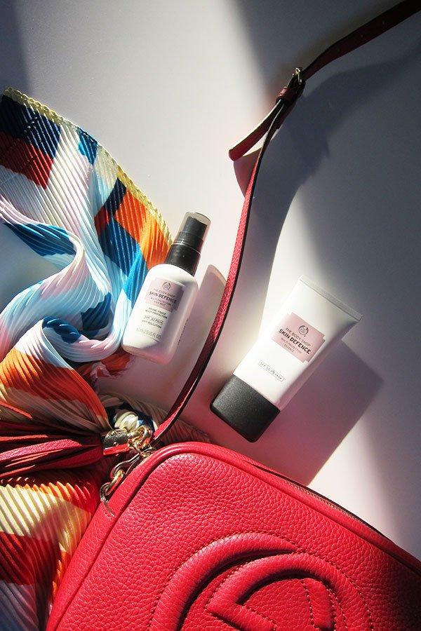 The Body Shop Must Haves auf Hey Pretty: Skin Defence Multi-Protection Essence SPF 50 und Face Mist SPF 30 (Erfahrungsbericht und Verlosung)