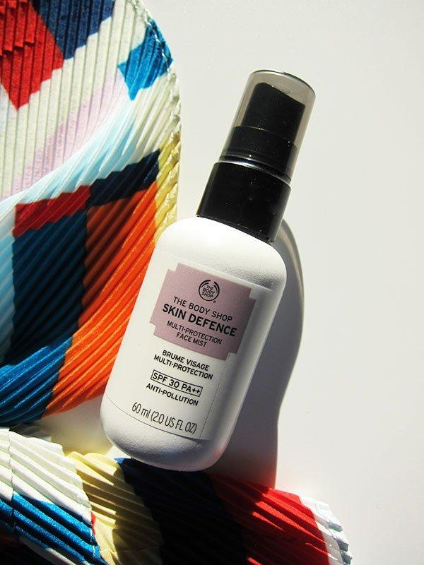 The Body Shop Skin Defence Multi-Protection Face Mist SPF 30PA++  (Hey Pretty's Must-Haves von The Body Shop), neu lanciert im Frühling 2019