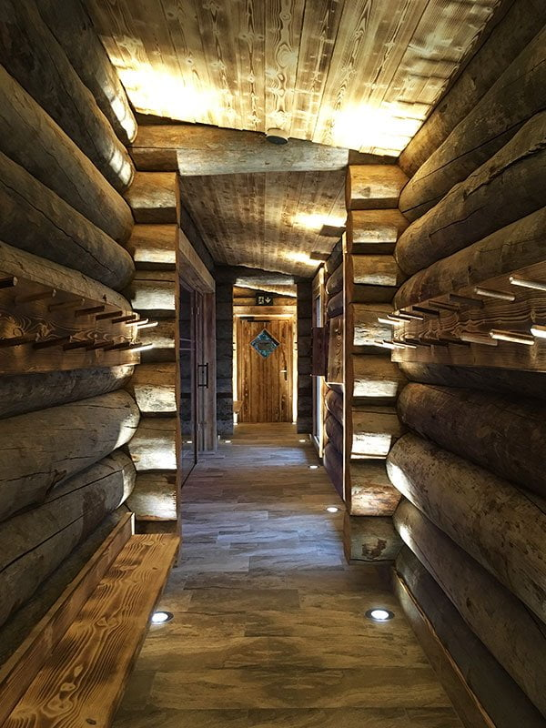 Kelo-Sauna der Tamina Therme Bad Ragaz (neu im Frühling 2019), Hey Pretty