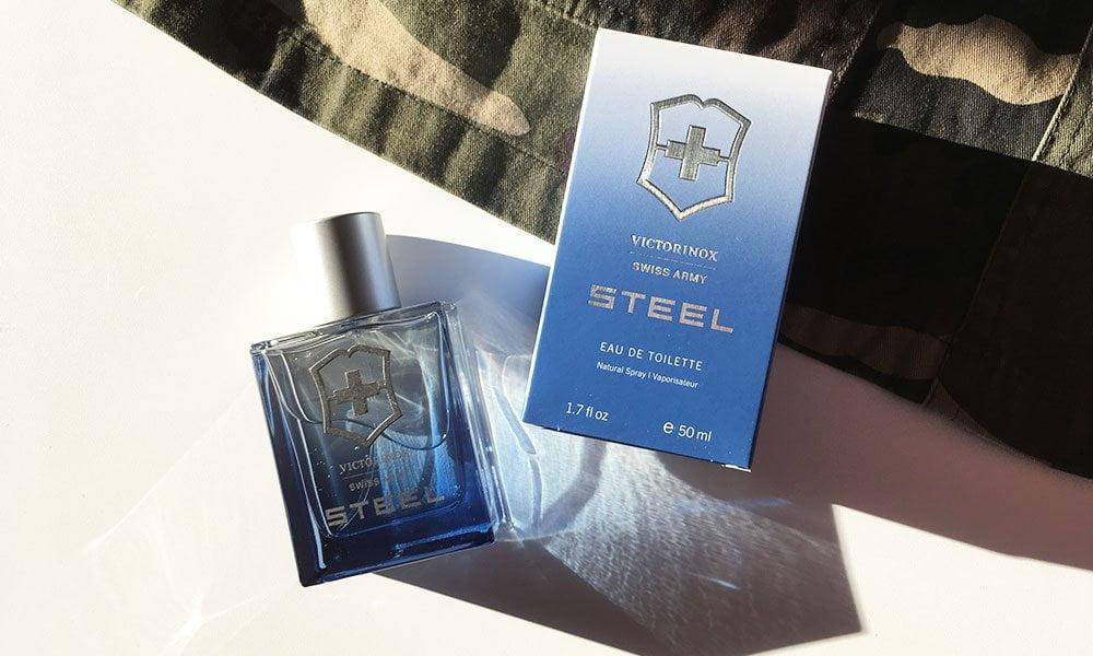 Victorinox Swiss Army Steel Eau de Toilette: Review auf Hey Pretty Beauty Blog