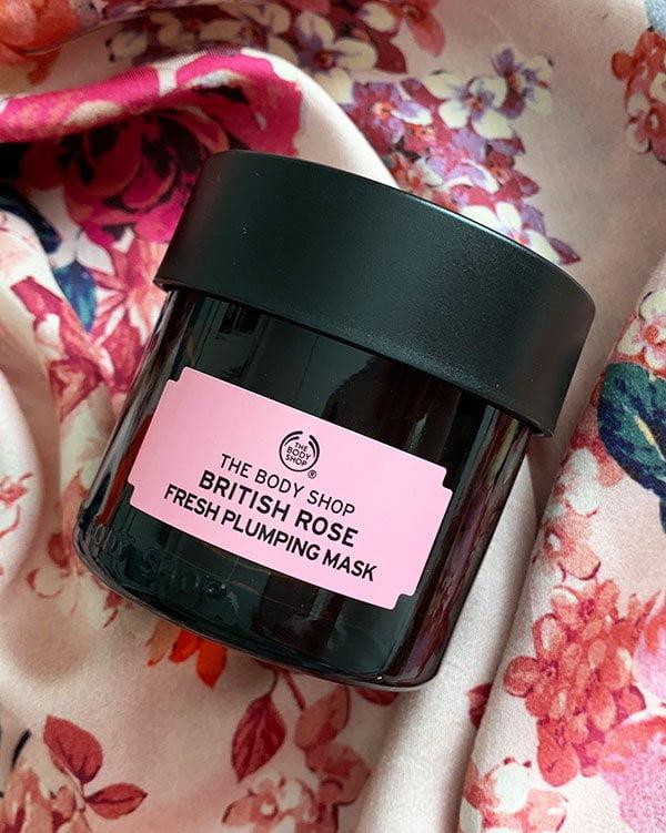 The Body Shop British Rose Fresh Plumping Mask: Die Hautpflege Must-Haves von The Body Shop, zusammengetragen von Hey Pretty Beauty Blog