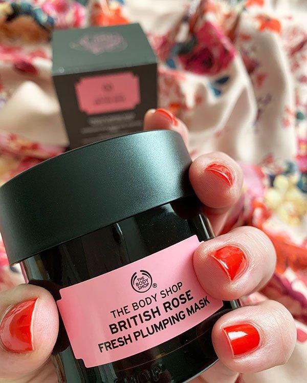 Verlosung The Boy Shop British Rose Gesichtsmaske auf Hey Pretty Beauty Blog
