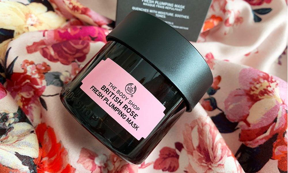 Hey Pretty Erfahrungsbericht: The Body Shop British Rose feuchtigkeitsspendende Gesichtsmaske
