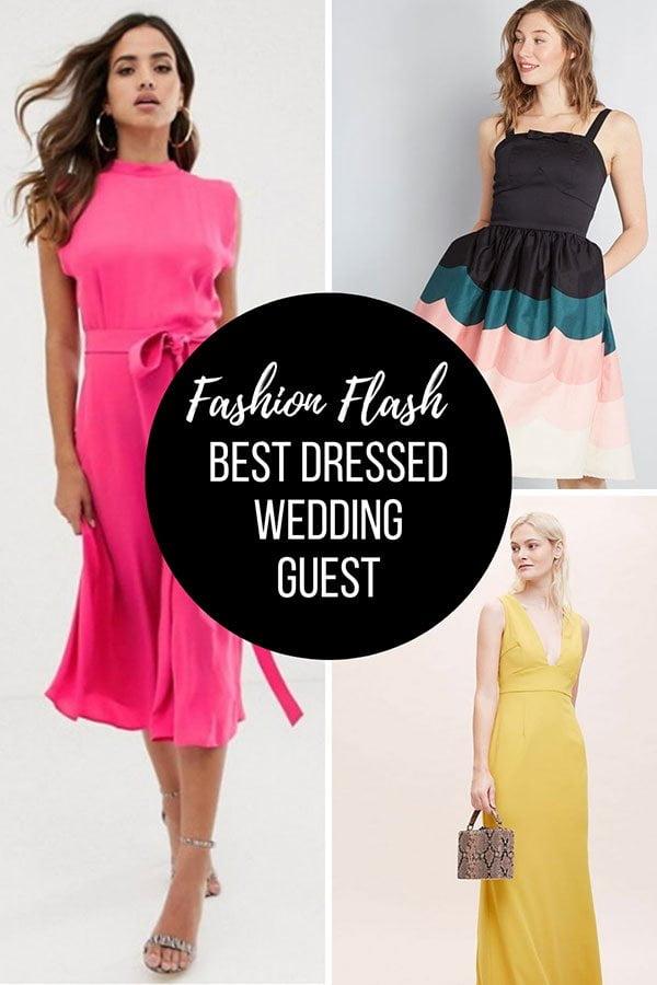 18 schöne Kleider für Hochzeitsgäste: Der «Best Dressed Wedding Guest 2019» als Hey Pretty Fashion Flash