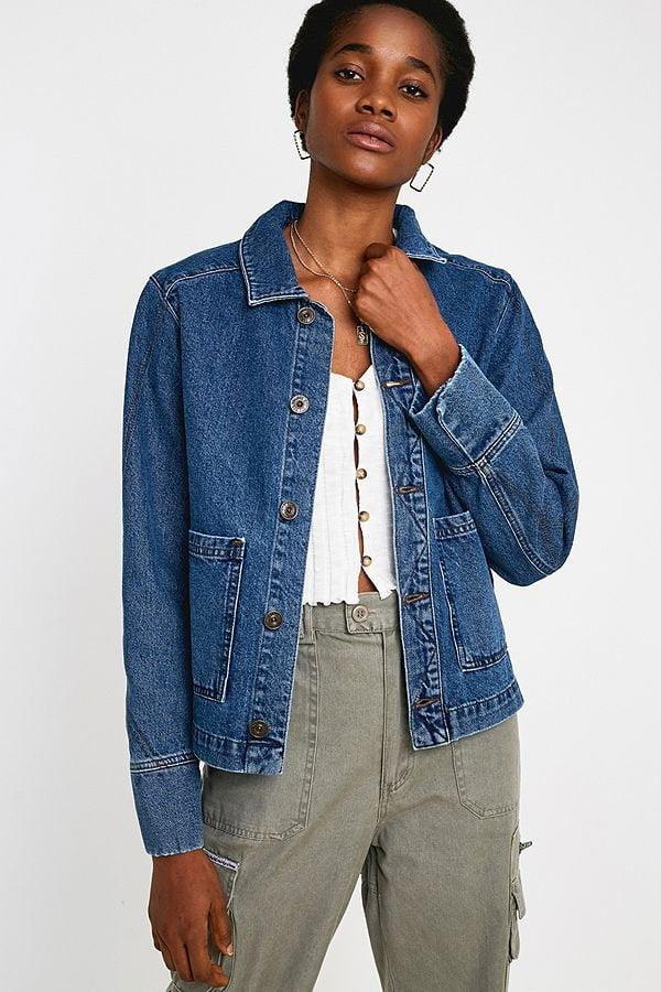 Hey Pretty Fashion Flash: Don't Fuck Around Denim – BDG Jeansjacke Utility von Urban Outfitters