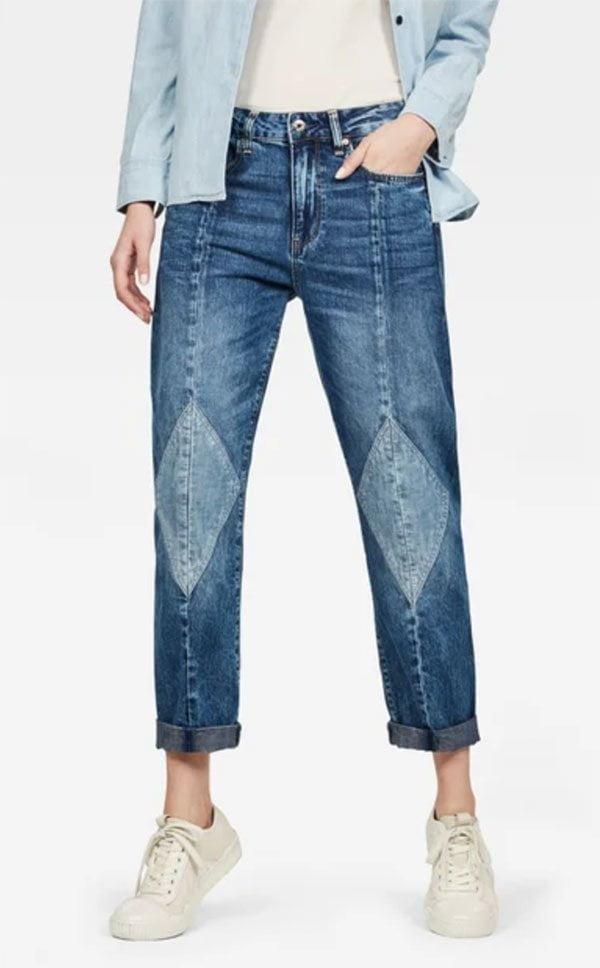 G-Star 3301 Mid Boyfriend Diamond Jeans (Hey Pretty Fashion Flash Mai 2019: Don't-Fuck-With-Me Denim