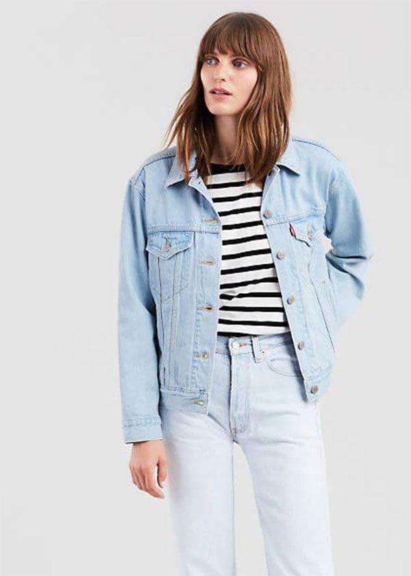 Levi's Ex-Boyfriend Trucker Jacket (Hey Pretty Fashion Flash: Don't-Fuck-With-Me-Denim) zum Frühling 2019