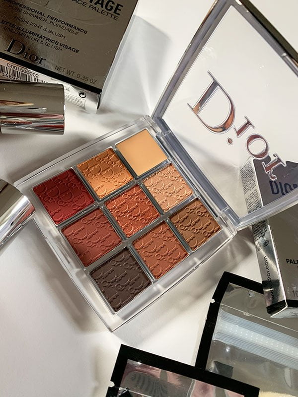 Dior Backstage Amber Eyeshadow Palette 003 (Review auf Hey Pretty Beauty Blog: Dior Backstage Masterclass 2019)